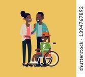 character design on african... | Shutterstock .eps vector #1394767892