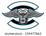 accessoires,vélo,noir,chopper,croix,personnalisé,décoratifs,élément,emblème,moteur,gaz d'échappement,drapeau,gang,graphique,icône