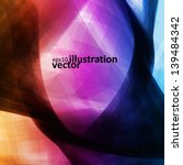 colorful abstract vector... | Shutterstock .eps vector #139484342