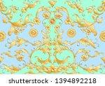 seamless pattern  background in ... | Shutterstock .eps vector #1394892218