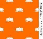 tank car pattern vector orange... | Shutterstock .eps vector #1394914355