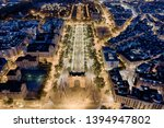 triumphal arc of barcelona... | Shutterstock . vector #1394947802