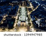 triumphal arc of barcelona... | Shutterstock . vector #1394947985