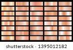 set of texture gradation... | Shutterstock .eps vector #1395012182