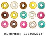 vector illustration with... | Shutterstock .eps vector #1395052115
