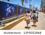 tel aviv  israel. may 11  2019. ...   Shutterstock . vector #1395052868