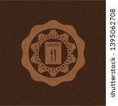 restaurant menu icon inside...   Shutterstock .eps vector #1395062708