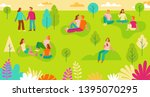 vector illustration in simple... | Shutterstock .eps vector #1395070295