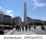 buenos aires argentina  ...   Shutterstock . vector #1395167072
