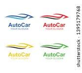 auto car logo template design   Shutterstock .eps vector #1395179768