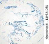 futuristic technology... | Shutterstock .eps vector #139521056