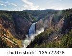 Lower Falls  Yellowstone...