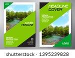 business brochure. flyer design.... | Shutterstock .eps vector #1395239828