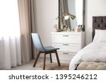Interior Of Bedroom With...
