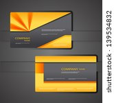 corporate business cards | Shutterstock .eps vector #139534832
