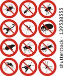 pests icon | Shutterstock .eps vector #139538555