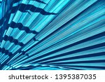 abstract blue background ... | Shutterstock . vector #1395387035