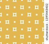 yellow raster seamless pattern. ... | Shutterstock . vector #1395443402
