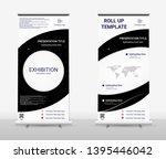 vertical roll up banner  ...   Shutterstock .eps vector #1395446042