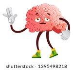brain is feeling sleepy ...   Shutterstock .eps vector #1395498218