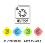 grey raw file document icon....   Shutterstock .eps vector #1395501065