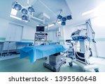 modern equipment in operating... | Shutterstock . vector #1395560648