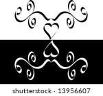 illustration of a frame with a... | Shutterstock . vector #13956607