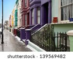 London Street With Colorful...