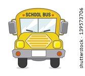 school bus icon over beige... | Shutterstock .eps vector #139573706