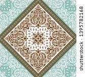 seamless pattern based on... | Shutterstock .eps vector #1395782168