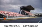 giant tribune with colorized... | Shutterstock . vector #139580132