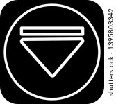 down direction arrow icon for...