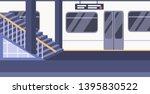 train subway railway...   Shutterstock .eps vector #1395830522