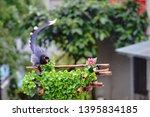 taiwan blue magpie  urocissa...   Shutterstock . vector #1395834185