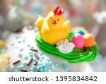 beautifully decorated... | Shutterstock . vector #1395834842