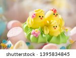 beautifully decorated... | Shutterstock . vector #1395834845
