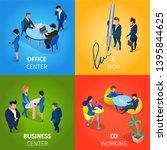office and business center  e...   Shutterstock .eps vector #1395844625
