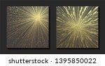 gold metallic glossy texture.... | Shutterstock .eps vector #1395850022