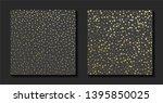 gold grunge dotted texture....   Shutterstock .eps vector #1395850025