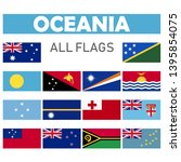 collection of flags from all...   Shutterstock .eps vector #1395854075