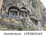 View Of The Rock Tombs Of The...