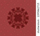 four leaf clover icon inside... | Shutterstock .eps vector #1395862715