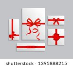 vector illustration set of... | Shutterstock .eps vector #1395888215