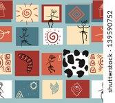 hand painted textured ethnic... | Shutterstock .eps vector #139590752