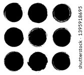 grunge circles collection.... | Shutterstock .eps vector #1395918695