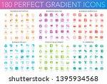 180 vector trendy perfect... | Shutterstock .eps vector #1395934568