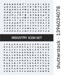 industrial vector icon set... | Shutterstock .eps vector #1396034078
