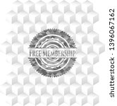 free membership grey emblem... | Shutterstock .eps vector #1396067162