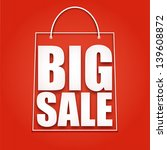 big sale poster  vector... | Shutterstock .eps vector #139608872