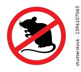 Rat  Mouse Icon Prohibited...